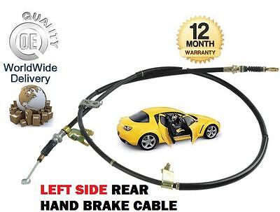 FOR MAZDA RX8 1.3 2.6 ROTARY ENG 2003-2008 REAR LEFT HAND LH BRAKE CABLE