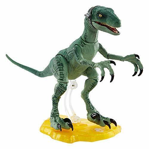 Jurassic World GJN94 Amber Collection Velociraptor Delta Spielzeug ab 8 Jahren