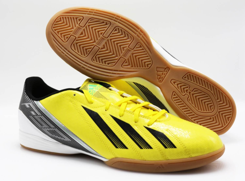 Adidas Indoor Fußballschuhe Halle F10 IN G65328 adiZero yellow (79) Gr. 46 2 3