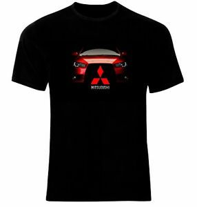 MITSUBISHI LANCER EVO 10 X RALLIART T SHIRT SPORTS CAR ENTHUSIAST RALLY UNISEX