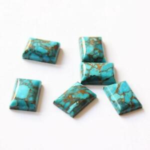 Natural AAA+Blue Copper Turquiose Loose Cabution Octogon Shap Gemstone Awesome !!