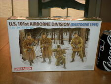 WW#2, U.S. 101st AIRBORNE DIVISION ( BASTOGNE 1944), Plastic Model Kit, 1/35
