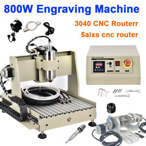 5-AXIS-CNC-3040-ROUTER-ENGRAVING-MACHINE-ENGRAVER-800W-VFD-USB-MILLING-DRILING