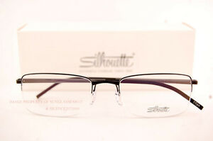 6f7e89ee3cf Image is loading New-Silhouette-Eyeglass-Frames-Illusion-Nylor-5428-6059-
