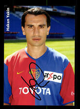 Hakan Yakin  Autogrammkarte FC Basel Original Signiert+A 156734