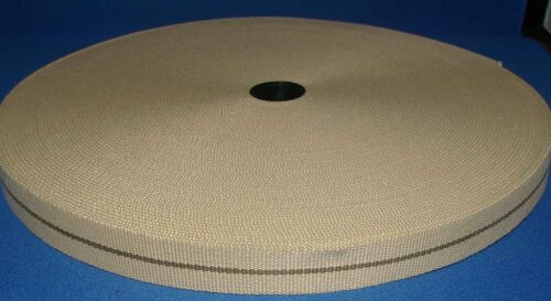Beige brown 30mm high Quailty Heavy Duty Webbing Clothing belts craft bags etc