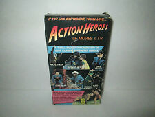 Action Heroes Of Movies & T.V. (VHS, 1989) Hard To Find (NTSC/US/CA)