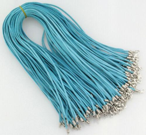 environ 50.80 cm Wholesale 8 couleur Daim Cuir Chaîne 20 in collier cordons multiples couleur choic