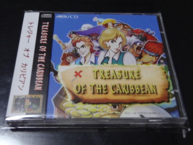 NEW Treasure of the Caribbean NCI Neo-Geo CD Japan
