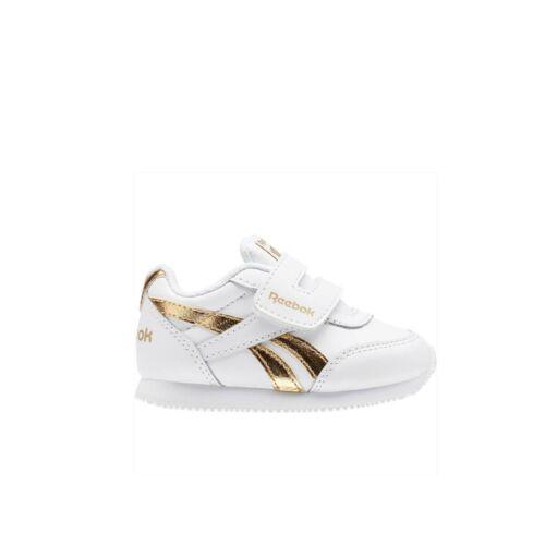 Toddler Shoes BS8028 Reebok Reebok Royal Cljog 2 Kc WHITE//GOLD MET
