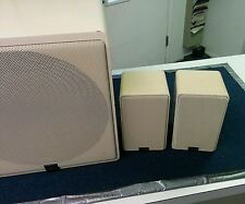 Vintage Canton Plus B Subwoofer and GL 210 Shelf Speakers