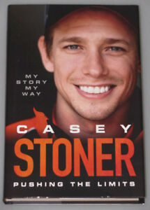 CASEY STONER Hand Signed Auto Biography Book + Photo Proof