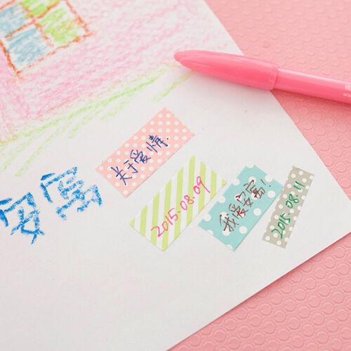 5pcs// Washi Masking Tape Klebeband Klebebänder  Papier Decor Stickers PAL