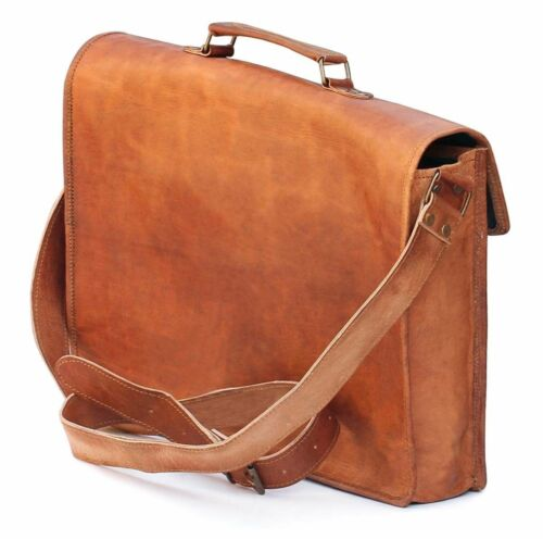 Aktentasche Laptoptasche Handgefertigte Mens Office Leder Weiche Vintage Travel 6YcPqT1w