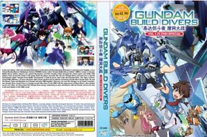 Gundam-construir-Divers-capitulo-1-25-final-especiales-todos-region-nuevo
