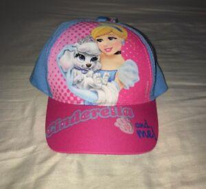 032ad449650 Image is loading Childrens-Girls-Pink-Baseball-Cap-Disney-Princess-Kids-