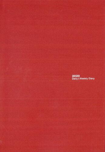 Agenda Cangini Filippi Slim Twin Time 2020 cm Rosso 16,5x23,5