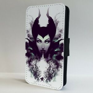 Details About Maleficent Mistress All Evil Disney Flip Phone Case Cover For Iphone Samsung