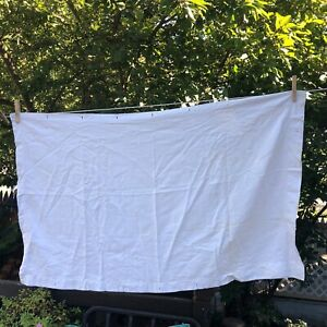 Vintage Linens Tablecloths Napkins Pillowcases Fabric Damage Ivory Cutter