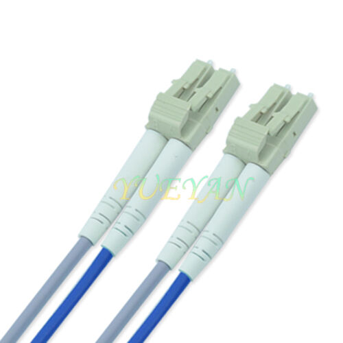 80M Armored Cable Fiber Patch Cord LC to LC UPC Pigtail Multi-Mode Cables Duplex