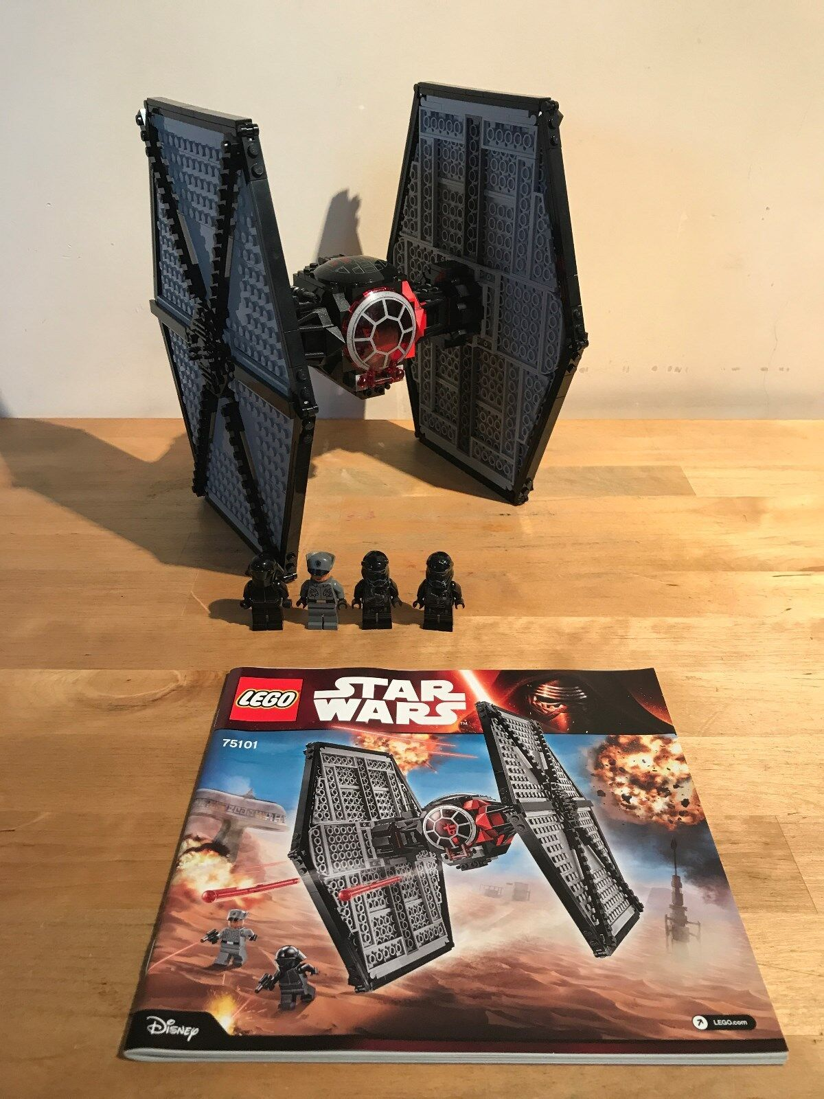 Lego Lego Lego Star Wars 75101 - First Order Special Forces TIE Fighter (Boxed) a5151f