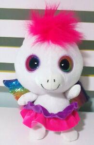 Impact-Toys-Rainbow-Pegasus-with-Pink-Hair-Plush-Children-039-s-Toy-24cm-Tall