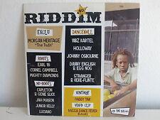 CD Sampler RIDDIM 40 MORGAN HERITAGE EARL 16 VIBZ KARTEL ..