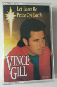 Vince Gill Cassette Tape Let There Be Peace on Earth 1993 MCA
