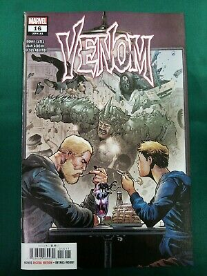 Marvel Comics 2019 VENOM #16 Cover A PRINTING CAPTION ERROR  ⭐