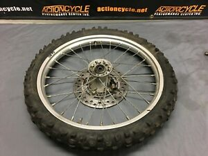 96-02-Honda-CR80R-Front-Wheel-J17-x-1-40-Spacers-and-Rotor-3875