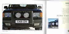 Range Rover Accessories 1999-2000 UK Market Sales Brochure