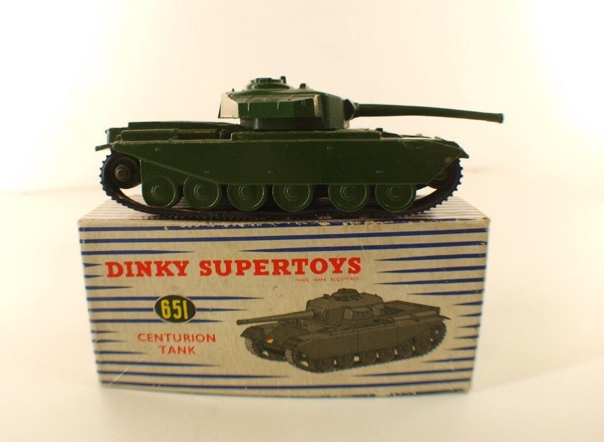 Dinky toys gb no. 651 centurion tank in box
