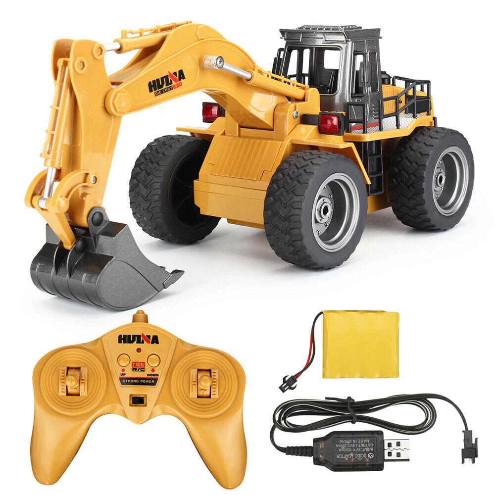 HuiNa giocattoli 1530 1  18 2.4G 6CH Rc auto tuttioy Excavator Engineering Vehicle W  Ligh  offrendo il 100%