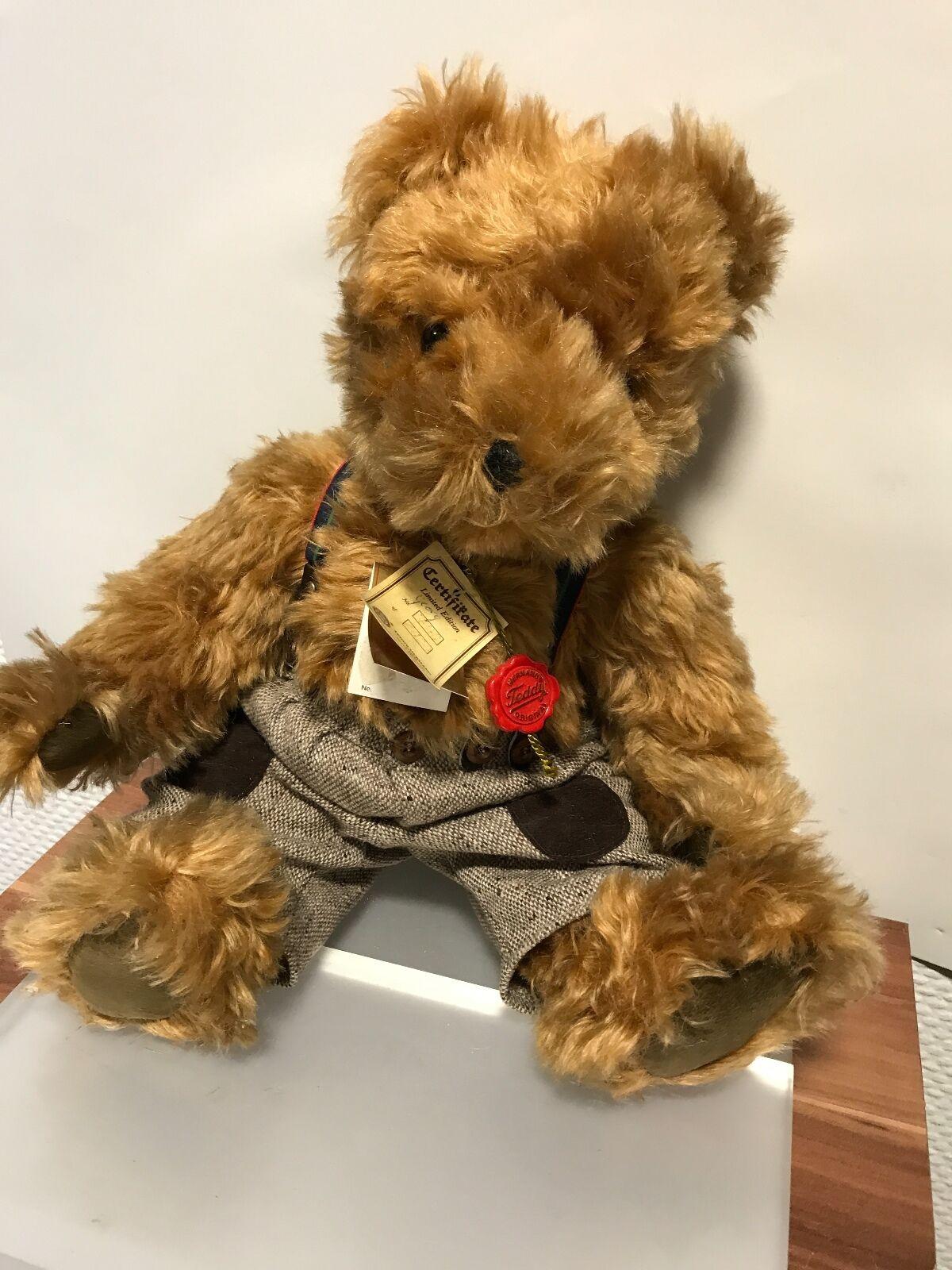 Hermann Teddy Bär 42 cm. Mit Etikett. Unbespielt. Top Zustand  | Moderne und stilvolle Mode