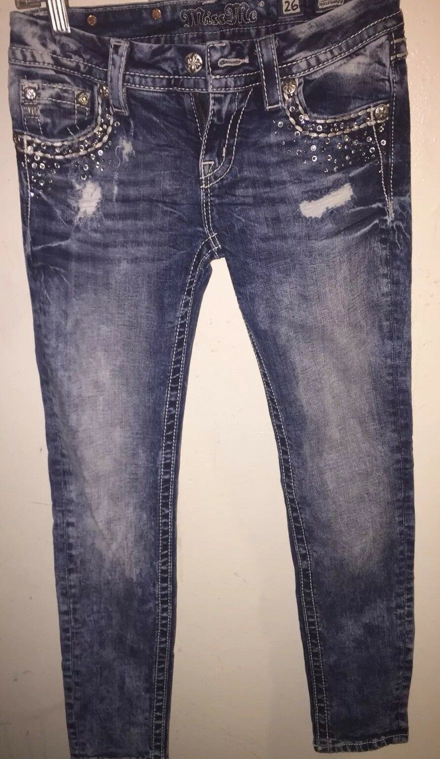 Miss Me Jeans Signature Ankle Skinny Size 26