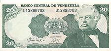 Venezuela - 20 Bolivares 7. 7. 1987 UNC - Pick 64A