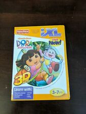 Dora The Explorer Game Fisher Price for iXL Learning System 3-7 yrs Boys /& Girls