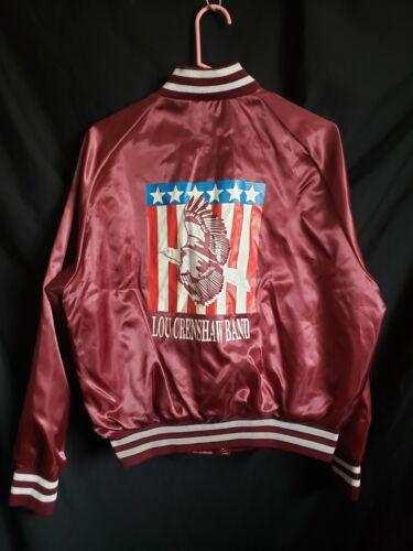 Lou Crenshaw Band Aristo Jac Vintage Satin Jacket