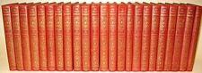 LEATHER Set;ENCYCLOPEDIA LITERATURE! Antique library britannica Harvard classics