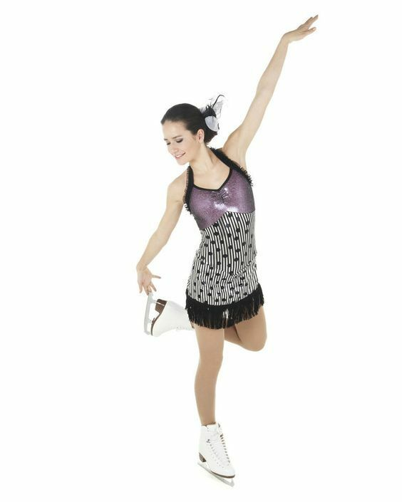 New Figure Skating Competition Dress Xpression 1452 Size Adult Medium