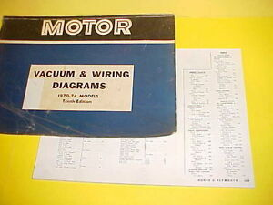 details about 1970 1971 1972 1973 1974 dodge charger r t se super bee vacuum wiring diagrams 73 87 chevy truck wiring harness 1970 hemi engine diagram wiring library