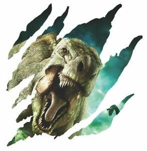 Dinosaurier-Wandsticker-Wandtattoo-Dino-Tiere-Natur-Aufkleber-Kinderzimmer