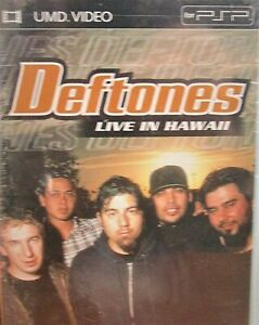 Deftones-Live-in-Hawaii-UMD-VIdeo-PSP-NEW-Widescreen-All-Region-9-Tracks