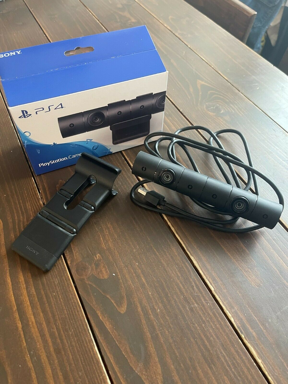 Sony PlayStation 4 Camera PS4 Camera with Stand With box CUH-ZEY2J Mint