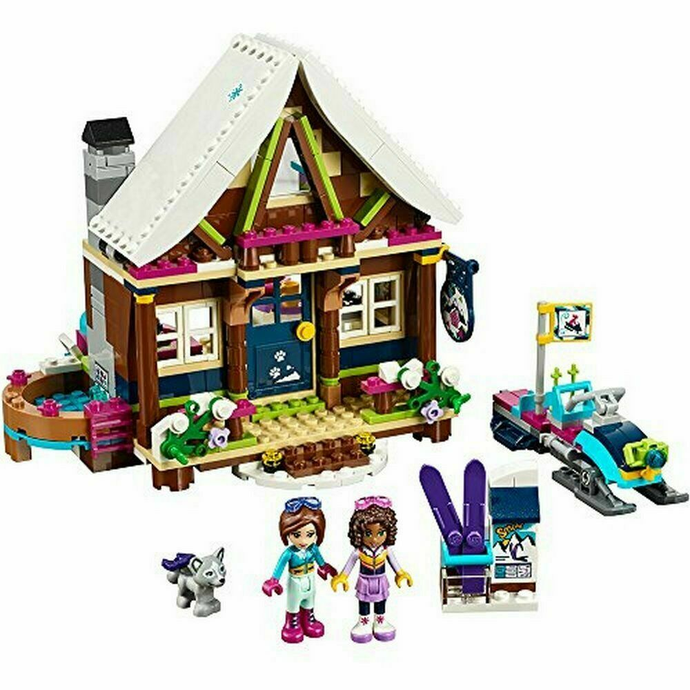 BRAND NEW Lego Friends Set  41323 Snow Resort Chalet 402 pcs