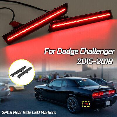 DODGE CHALLENGER 2015-2018 LEFT DRIVER REAR REFLECTOR BUMPER LIGHT LAMP LENS