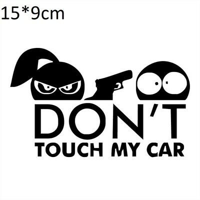 Warning Do Not Touch My $hit Funny Sticker Decal