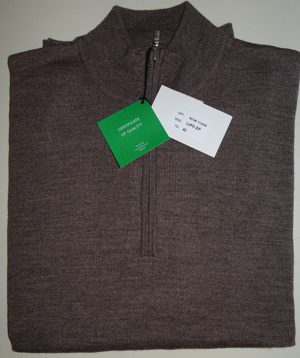 Weekend Messieurs Luxe Sweatshirt Pull Marron Made  L (uk42) Prix Recomhommedé 119,- NEUF