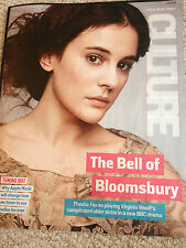 PHOEBE FOX interview BENEDICT CUMBERBATCH UK 1 DAY ISSUE JULY 2015 AVICII