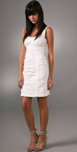 Nanette Lepore Vivacious Ruched Bodice Dress  8 US
